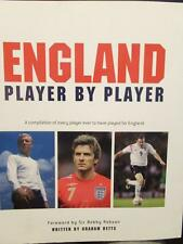 ENGLAND PLAYER BY PLAYER by Graham Betts, foreword by Sir Bobby Robson
