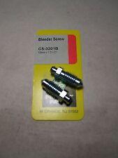 BRAKE BLEEDER SCREWS - 10mm x 1.5 x 27 - SET OF 2