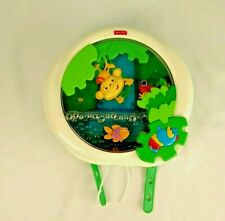 Fisher Price Rain Forest Waterfall Peek-a-Boo Baby Musical Crib Soother Mobile
