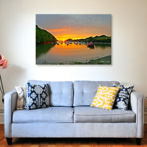 Watermouth Harbour - Various Sizes - North Devon Canvas - Ready to Hang