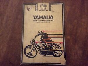 Yamaha Twin Cylinder 1965-1972 90-350cc Clymer Service Repair Handbook Manual