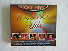 Box mit 5 Musik CD´s 70er und 80er 100 Hits