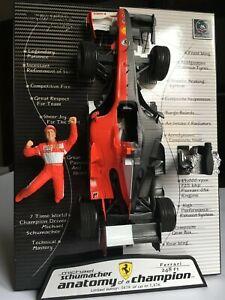 Ferrari 248 F1 Anatomy Of A Champion 2006 #5 M.Schumacher 1:18 Hot Wheels