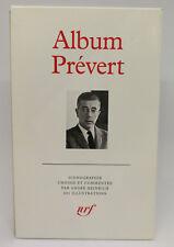 PLÉIADE - ALBUM PREVERT (1992)