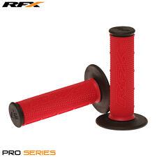 Rfx de doble densidad Grips soft-mid compuesto Rojo Negro Motocross Enduro