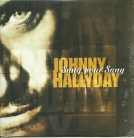 CD 2 TITRES - JOHNNY HALLYDAY : SANG POUR SANG ( NEUF EMBALLE )