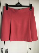 MARKS & SPENCER WOMENS PINK FRONT PLEATED SKIRT, Size 14, Bnwt