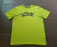 RARE Nike Road Rat T-shirt Night Running Dri Fit Tee Shirt Training Men's Sz L