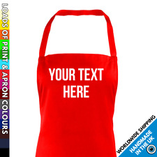 Custom Printed Kids Apron - Personalised Any Text Childrens School Baking Craft