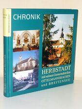 Herbstadt mit seinen Gemeindeteilen Ottelmannshausen und Breitensee. Chronik