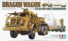 Tamiya 35230 US 40 Ton Tank Transporter Dragon Wagon 1/35 Scale Kit