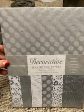 Decorative Handmade Papers 18 Sheets F23