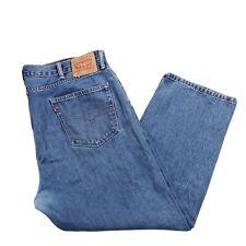 Men's Levi's 505 Jeans Regular Fit Size 42x29 Measured 43x29