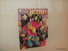 Vintage 1991 The Needlecraft Shop Hot Feet By Bouquet Design Studio 911601