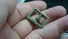 Lovely Post medieval bronze buckle L227