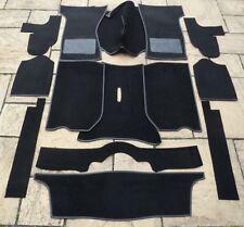 TRIUMPH Spitfire MK1-MK2-MK3-MK4 - 1500 Nuovo Set Tappeto + KIT BASE DI FELTRO