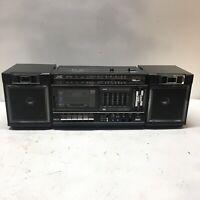 Vintage JVC Portable Component System Cassette/AM-FM Radio PC-30 Boombox COOL