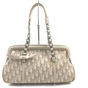 Christian Dior Tote Bag  Beiges PVC 1903161