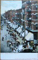New York City, NY 1905 Postcard: Hester Street - Manhattan