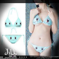 lolita cosplay Pokemon Pocket Monsters Squirtle sexy bikini swimwear J1M3008