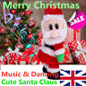 Santa Claus Doll Singing & Dancing Electric Toy Christmas Gift - Merry Christmas