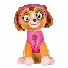 """NEW OFFICIAL 12"""" PAW PATROL SITTING SKYE PUP PLUSH SOFT TOY NICKELODEON DOGS"""