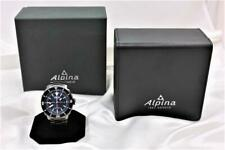 Alpina Seastrong Diver GMT Watch with Blue Dial Ref:AL-247LNN4TV6B