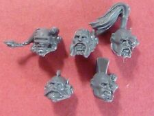Space Wolves Power Armour 5 X WOLF SCOUTS HEADS - Bits 40K
