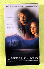 Last of the Dogmen ~ VHS Movie ~ Tom Berenger Native American HBO Video Tape