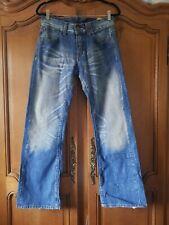 Mens TOMMY HILFIGER Rogar San Francisco Vintage Jeans W30 L32 Blue Bootcut