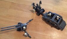 Custom Lego Star Wars Clone Fighter Service vehicle with Mobile Cannon & Crew