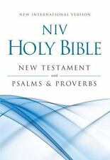 NIV Holy Bible : New Testament with Psalms and Proverbs (2012, Paperback,...