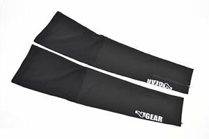 Verge V-Gear Fleece Cycling Leg Warmers Black Large New