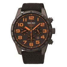 Seiko Gents Solar Chronograph Watch - SSC233P9 NEW