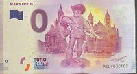 BILLET 0  EURO  MAASTRICHT PAYS BAS   2017  NUMERO 100