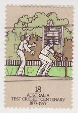 (DA1557) 1977 AU 18c wicket keeper (A)