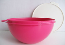 New Pink Tupperware Thatsa Bowl for Mixing, Serving, Storage, Punch Bowl 19 Cups