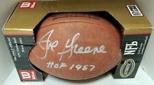 MEAN JOE GREENE AUTOGRAPHED WILSON NFL FOOTBALL