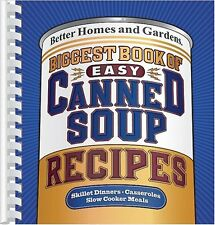 Biggest Book of Easy Canned Soup Recipes (Better H