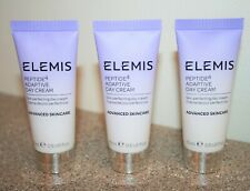 3 x Elemis Peptide 4 Adaptive Day Face Cream 0.5 oz .5 Travel Size = 1.5 total