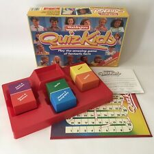 Vintage 1984 Waddingtons Quiz Kids Board Game Questions Ages 7-14 Years