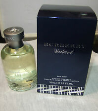 BURBERRY WEEKEND FOR MEN EAU DE TOILETTE  100ML 3.3Fl.OZ VAPORISATEUR