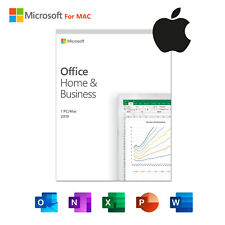 Dvd Microsoft Office 2019 Home and Business for 1 Mac | Lifetime