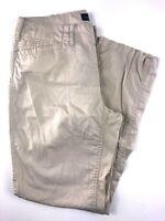 LRL Ralph Lauren Jeans Casual Cotton Tan Women's Pants Size 4