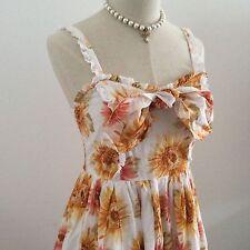 LIZ LISA NWOT Dress Sunflower Cotton Japan Kawaii Gyaru Fashion #15317