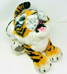 "Hasbro FurReal Friends Fur Real 20"" Roarin' Tyler The Playful Tiger- Works!"