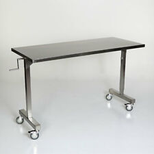 """New MCM-535 Height Adjustable Stainless Steel Straddle Table 24""""W x 60""""L"""