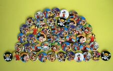 One Piece Luffy Japan Anime Derocate Badges Badge Lot of 40pc Set