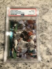 PSA 8 1999 FLEER RICKY WILLIAMS #297 TROPHY COLLECTION RC RARE NUMBERED 10/20