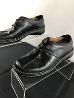 Josef Seibel Black Leather Women's Lace Up Oxford Shoes EU Sz 36 US Sz 5-5.5 M 3